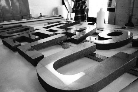 3D Foam Letters