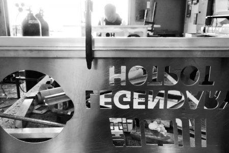 Legendary Hotpot Aluminum Sign